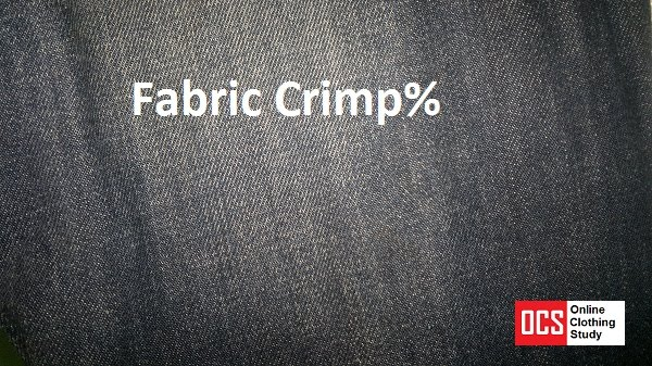 Crimp in woven fabric