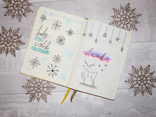 Bullet Journal | December Set Up