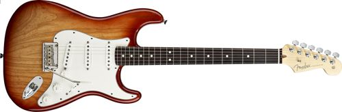Cualidades Estándar Guitarra Stratocaster
