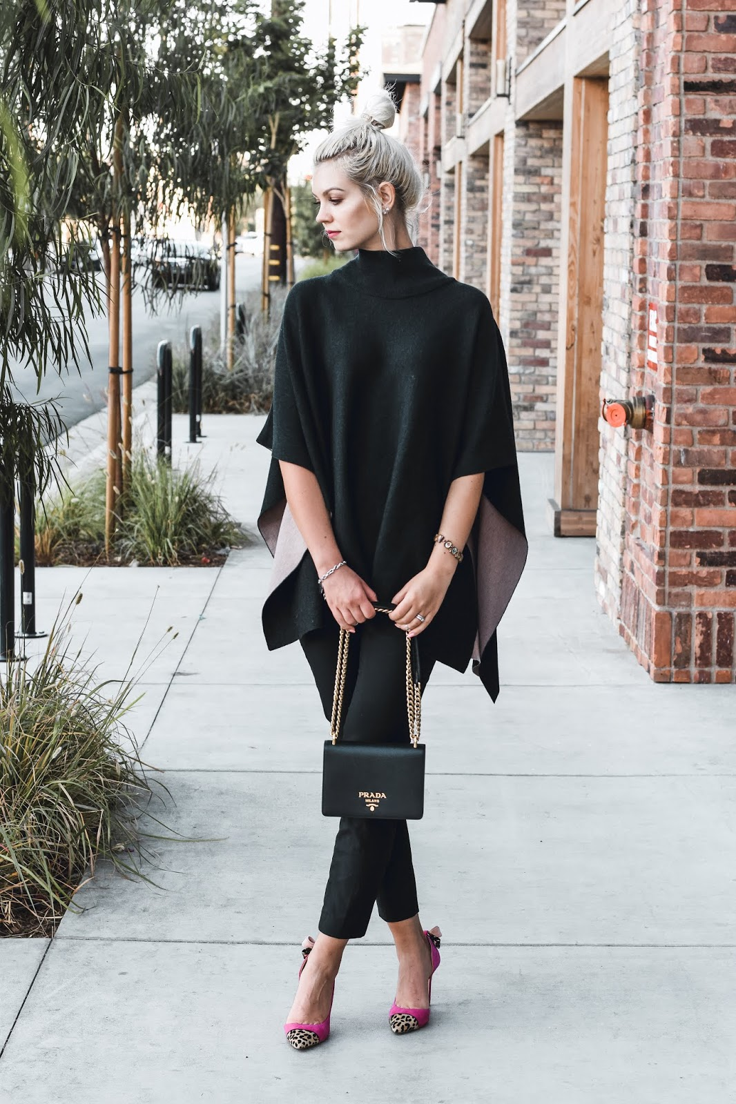 how to style an elegant poncho