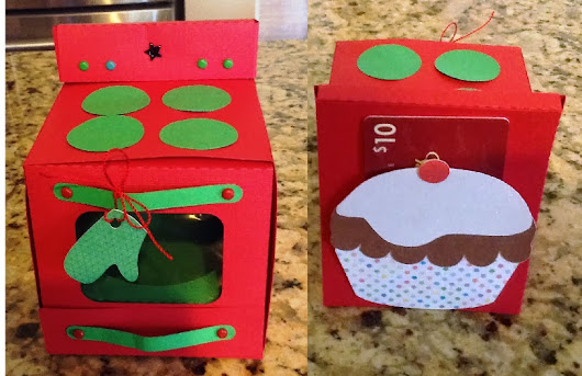 Oven Cupcake Box for the Holidays