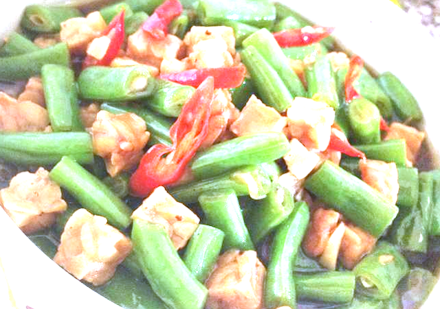 cara memasak oseng-oseng tempe buncis