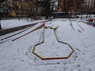 Bangolf Vasaparken in Vasastan, Stockholm