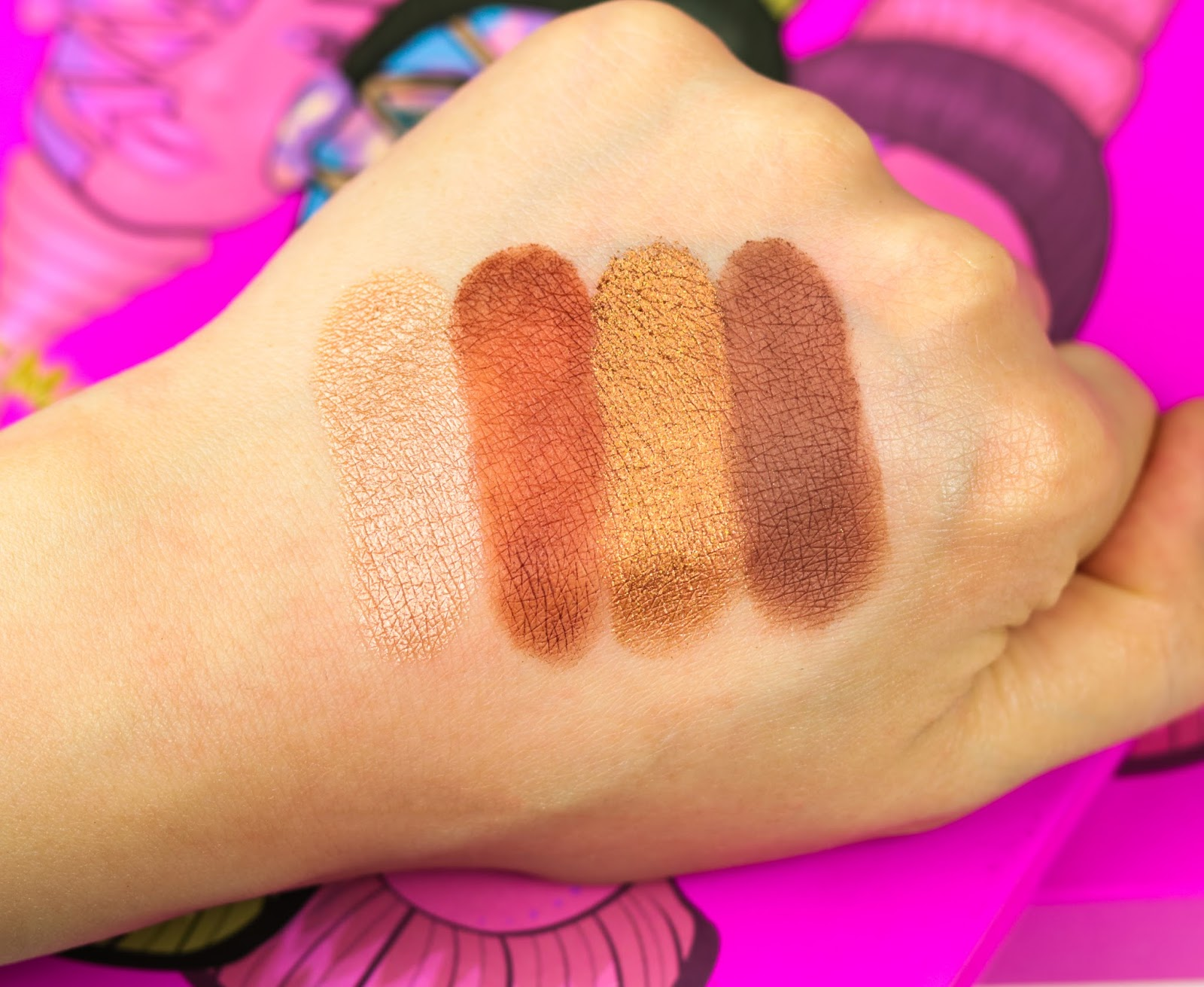 Juvia's Place The Masquerade Palette Avis et Swatch