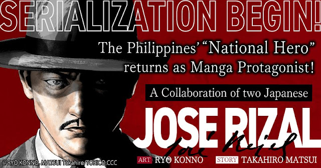 "The Philippines' Natinal Hero ""Jose Rizal"" Revives As Manga!"