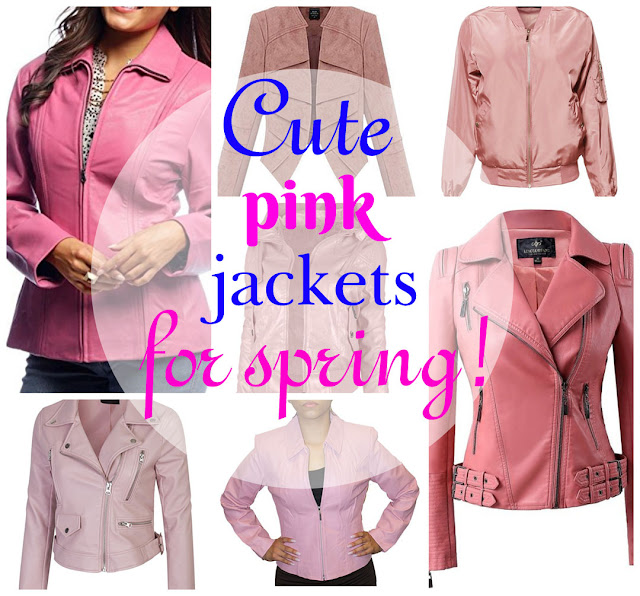 Pink Jackets for Spring