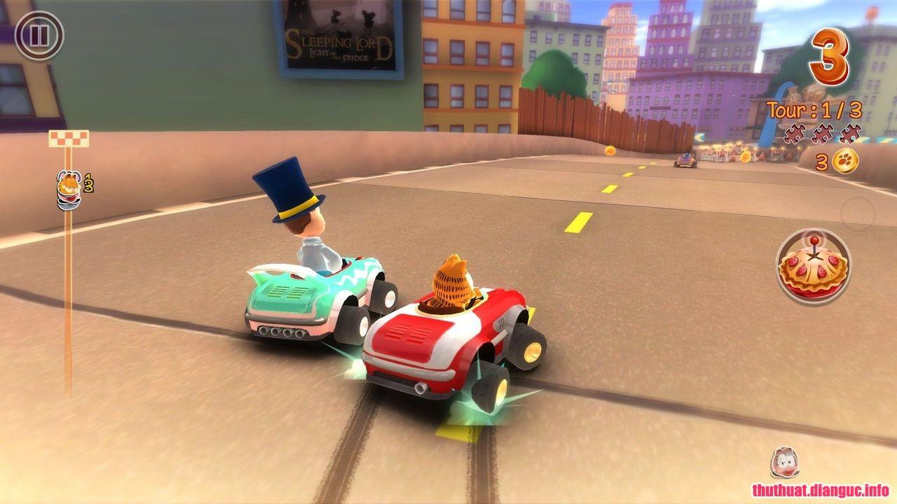 game đua xe vui nhộn, Game Garfield Kart free download, tai game Garfield kart, game garfield kart, Garfield Kart Skidrow pc game