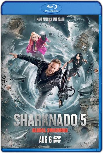 Sharknado 5 Aletamiento global (2017) HD 1080p y 720p Latino