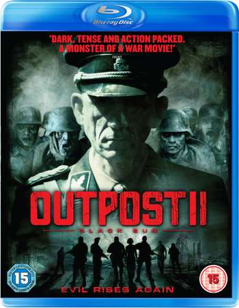 Poster Of Outpost Black Sun 2012 Dual Audio 720p BRRip [Hindi - English] Free Download Watch Online