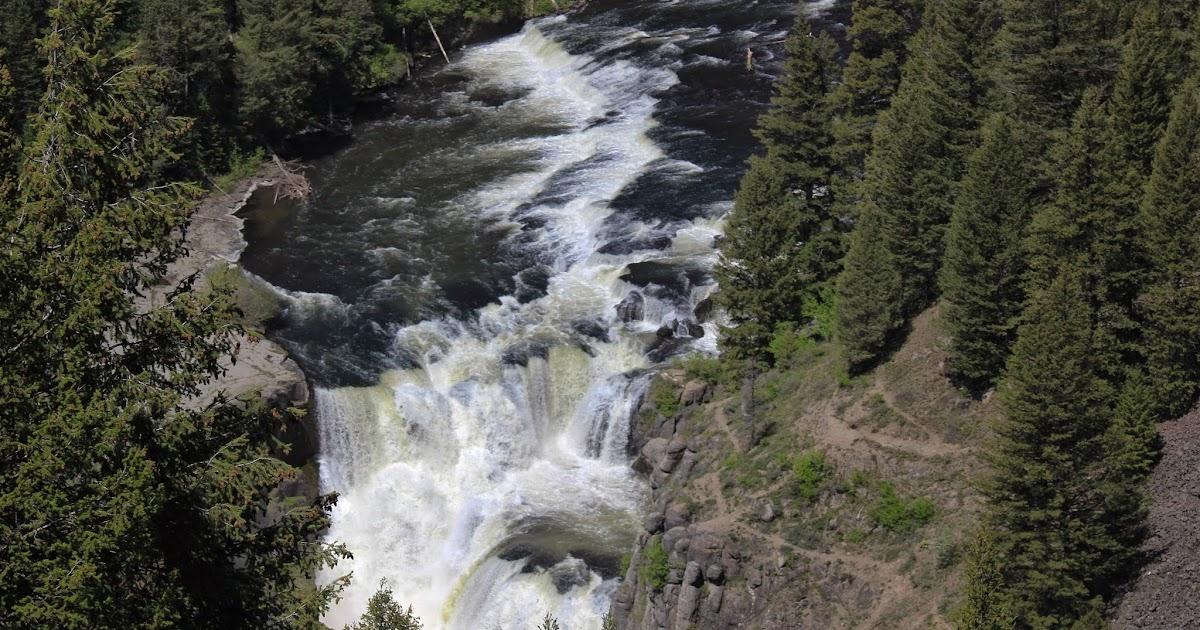 Paul Morrow Photos Upper and Lower Mesa Falls Idaho