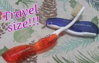 mouth watchers travel toothbrushes
