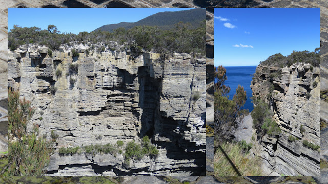 The Devil's Kitchen on the Hobart to Port Arthur Drive in Tasmania
