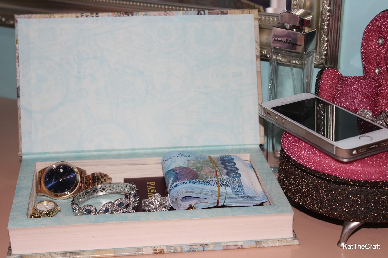 So Many Things to Do, So Little Time: Repurposed Book - DIY