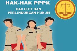 Hak-hak PPPK selain Gaji PPPK yaitu Perlindungan dan Cuti