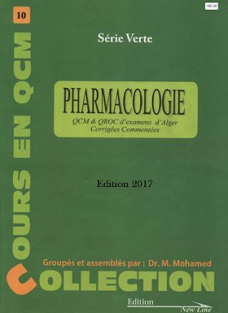 serie verte pharmacologie Edition 2017 PDF