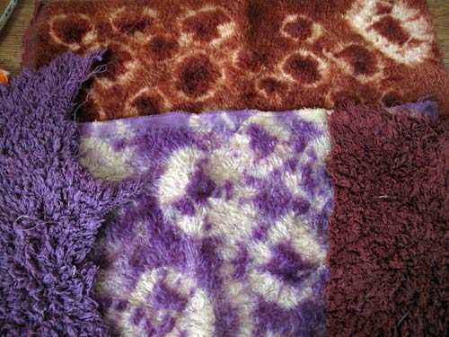 hand dyed tie dyed mohair