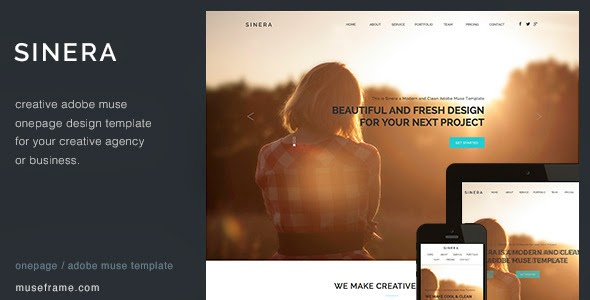One Page Website Theme