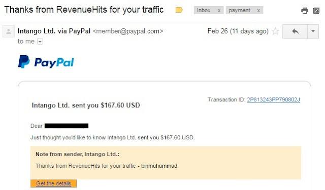 Iklan di Blog Menjana Income 4 Angka Sebulan