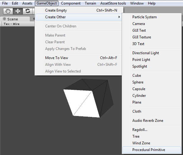 ReCreation Studios: Procedural Primitives (Unity Asset Store)