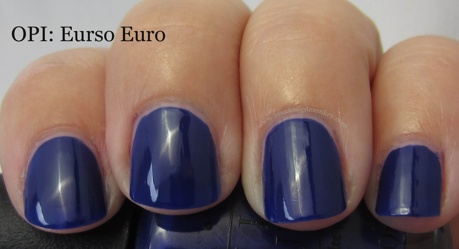 The Manicured Monkey Opi Euro Centrale Swatches