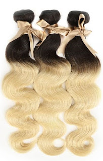 REMY HAIR丨OMBRE 3 BUNDLES BODY WAVE 丨T1B/613