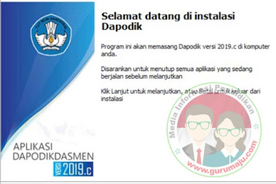 Download Aplikasi Dapodik 2019.C
