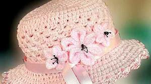Cómo hacer souvenir con forma de sombrero al crochet - video