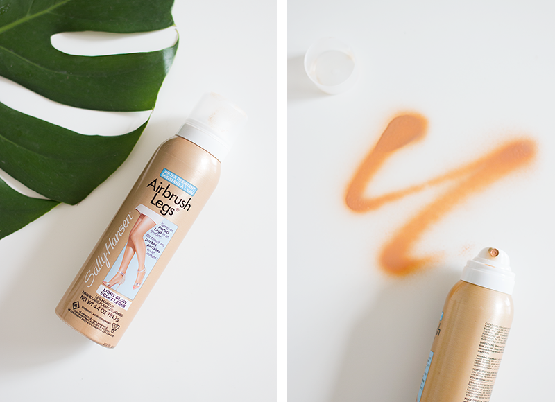 Summer Skin Essentials: Sally Hansen Airbrush Legs