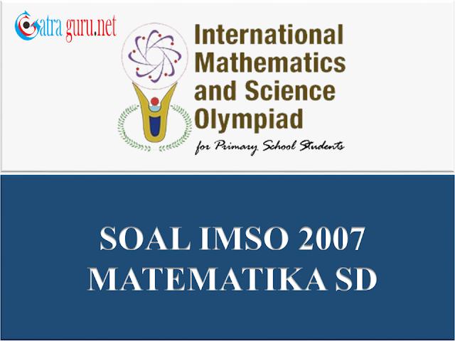 Soal IMSO Matematika 2007