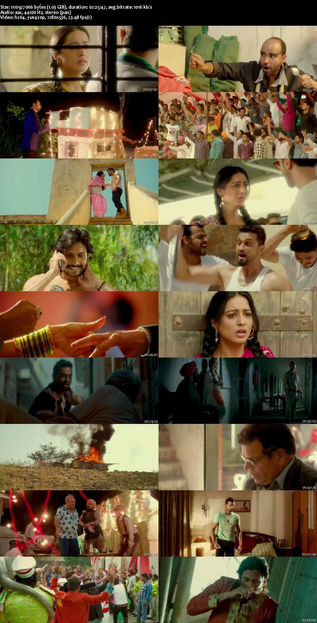 Aatishbaazi Ishq (2016) 720P 500mb Punjabi Movie