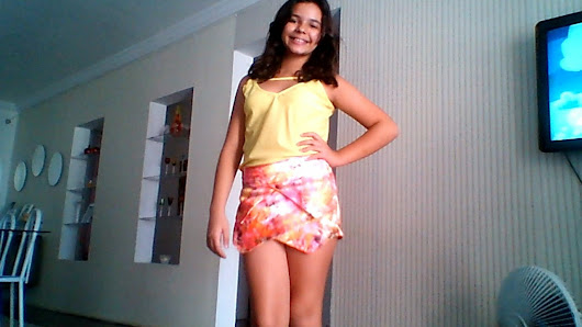Look do dia : Colorida !!
