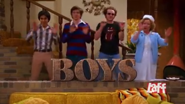That 70s Show BOYS Laff is The Big Bang Theory commercial