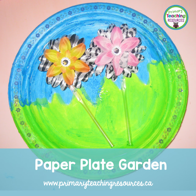 Paper Plate Garden Craft Primary Teaching Resources