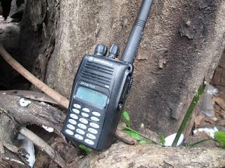 HT Motorola GP338 Plus VHF New Barang Sisa Stok