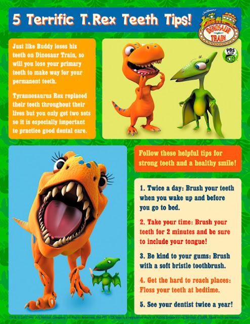 Susan Heim on Parenting: Celebrate National Children's Dental Health Month and Valentine's Day with Dinosaur Train -- Plus, a Dinosaur Train Toothbrush Giveaway!