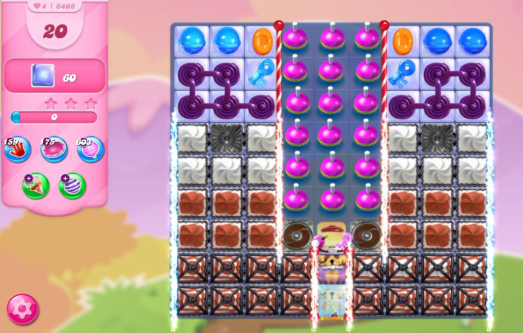 Candy Crush Saga level 6406