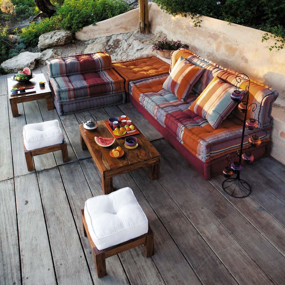 vision d co by sofia chez maison du monde ambiance marocaine. Black Bedroom Furniture Sets. Home Design Ideas