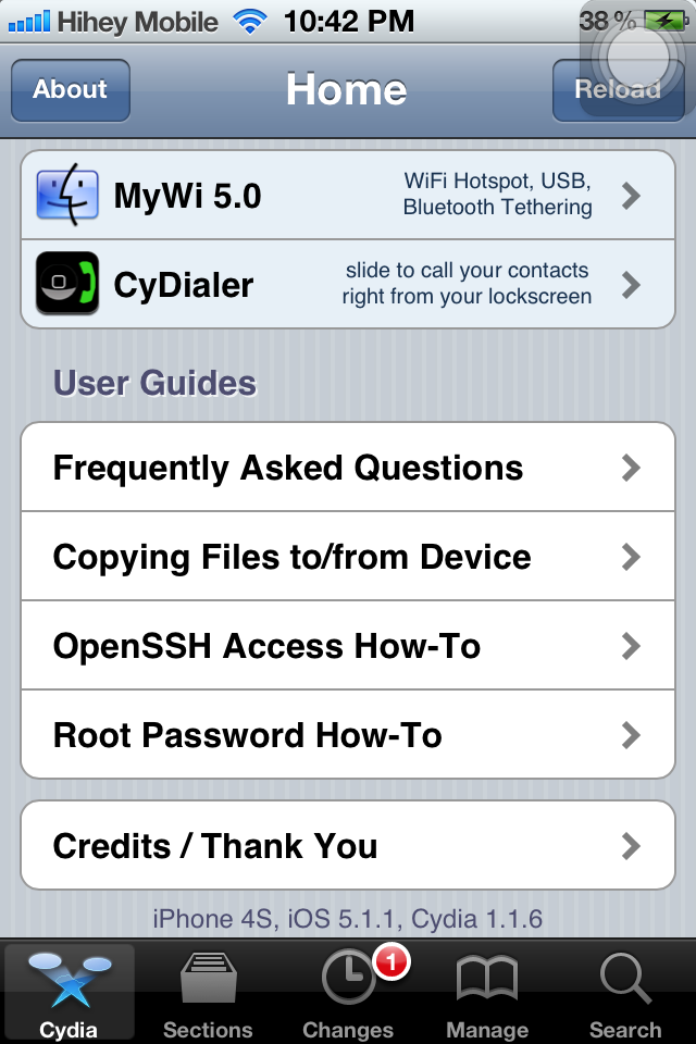 Free Cydia Apps I installed after iOS 5 1 1 jailbreak