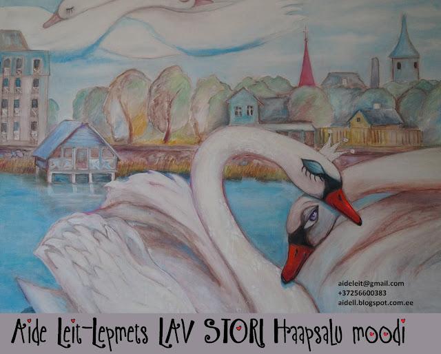 #AideLL #swans #Tchaikovsky #haapsaluresort #lovehaapsalu #lavstori #lovestory