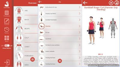 تطبيق-Fitness-Bodybuilding-كمال-الأجسام