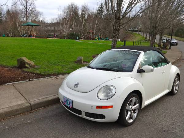 2007 New Beetle Convertible Triple White Edition
