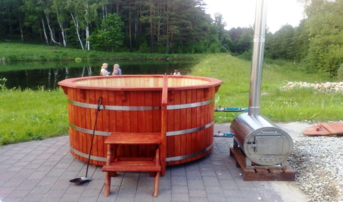 Wood Fired Hot Tub Heaters And Wood Fired Pool Heaters Natural Wood Burning And Pool Heating Stoves