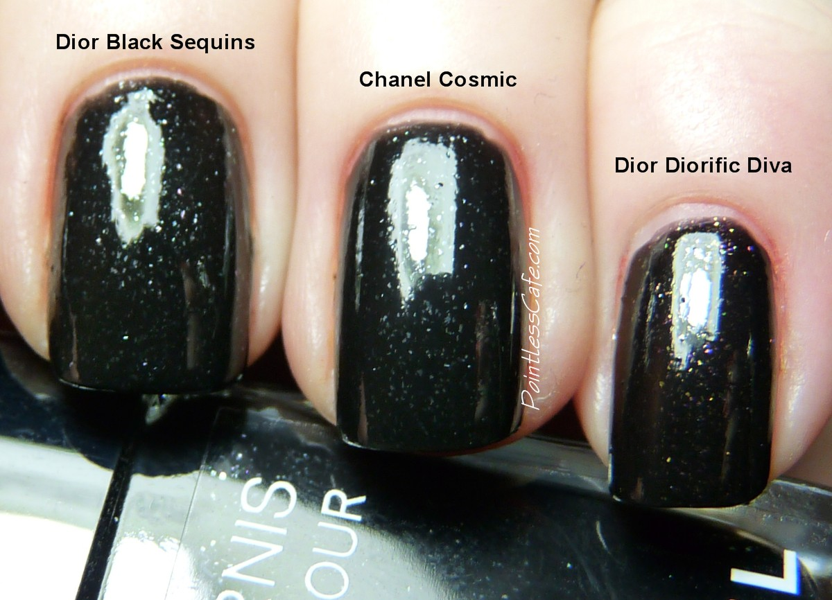 Chanel Fno 2013 Cosmic Swatches Review And Comparison Pointless Cafe
