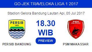Persib Bandung Kemungkinan Jamu PSM Makassar Tanpa Djanur