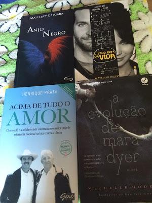 sorteio livros fevereiro