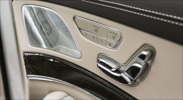 Hệ thống âm thanh Burmester 13 loa trên Mercedes S450 L 2018
