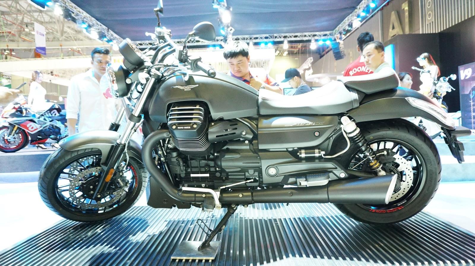 Moto Guzzi Audace phải nói là một tuyệt phẩm hoàn hảo tại Vietnam Motorcycle Show năm nay