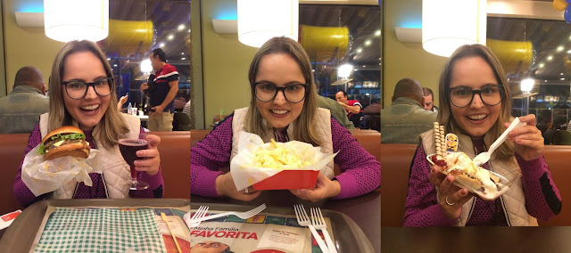 mc donalds lanche batata sorvete torta de banana