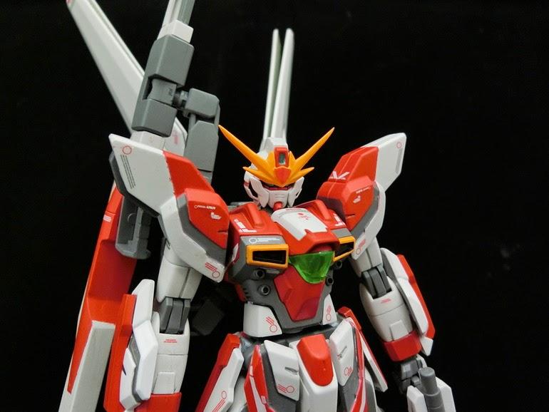 Hgbf 1 144 Gundam X Maoh Custom Build Gundam Kits
