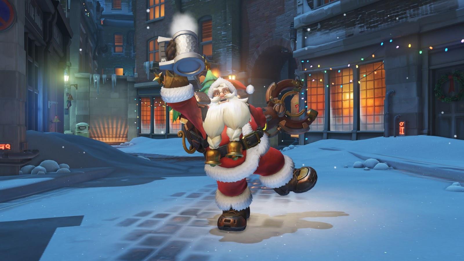overwatch christmas event update new and returning winter wonderland skins